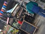 Antiguo Mercado de San Telmo, ubicado frente al apartamento