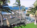 playa arena blue flag beach