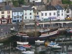 The Golden Hind Brixham Harbour