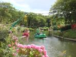 Pedal boats at Peasholm Park