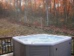 Full-size hot tub