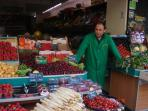 Fruits and Vegetables at Rue des Abbesses