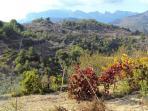 Tárbena - sight to Bernia mountains (20km away)