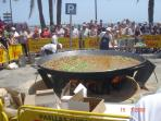 Fiesta Moors & Christians  - big Paella