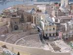 Roman Amphitheatre at Cartagena - 30 minutes drive from the resort