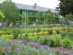 Monet's house & garden at Giverny in the spring