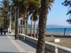 Promenade and Beach at San Pedro