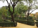 Parque histórico público Jardines del Valle a 1 minuto de la casa