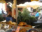 Bread stall, Bergerac Market