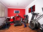 Gym in Golf Club - Residents may use