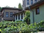 Bulgarian rennaisance Arghitecture-view from the garden terrace
