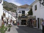 Shops in village