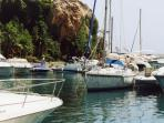 The nearby Marina del Este