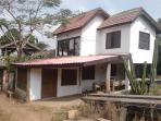 Guest house 2 - one bed apartment upstairs and dormitory downstairs sleeps 4. Is being developed.