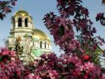 The Cathedral Al.Nevski is 10 min walk away