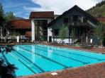 Year-round heated pool