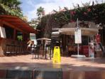poolside patio & bar