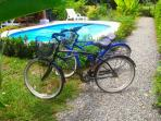 Ocean Melody bikes for additional 10$/day