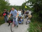 Safe cycle track  runs from Bressuire to Parthenay