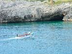 Grotte lungo la costa