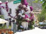 Kalkans beautiful bougainvillea clad houses