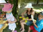 Balloons at the teddy bear picnic