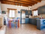 Kitchen in ''Gea'' villa