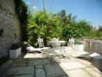 Back patio / sun terrace