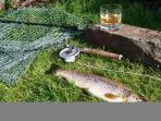 A great day out, fishing for salmon or seatrout.
