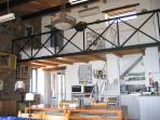 studio with mezzanine