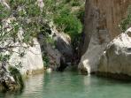 Water Falls 10 Km away from Villa