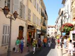Wondering around the charming streets of Old Town, Antibes you will get lost & near Picasio Museum