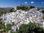 Casares, a white village on a hilltop, with a splendid Moorish castle is just a short drive away.