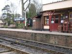 Kent and East Sussex railway. Tenterden Station