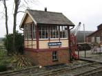 Signal Box at Tenterden station