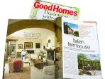Le Stalle has featured in 3 magazines.