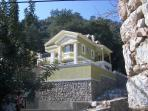 A luxury villa in a beautiful location. Mountains at the back and fantastic views.