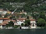 Aerial view of the lake view location of Brentano Nobile
