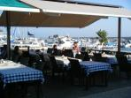 Eating out by the harbour
