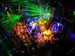 Night clubs 50 metters from the flat