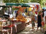 Things to do.... Olonzac Market, Tuesday morning, biggest and best in the area