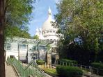 The Montmartre funicular
