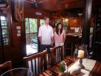HGTV filmed recenly on Seabird.  This is the couple who will appear in the show 'Island Hunters.'