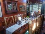 Seabird's main area has the 'Old Florida style' decor which is perfect for the Island.