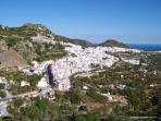 Nearby white village of Frigiliana
