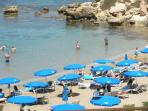Kapparis - Lovely small beach near Agia Napa