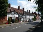 The old High Street, Kenilworth