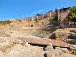 Teatro Romano - La Alcazaba