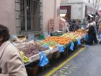 Carcassonne market, Tuesday, Thursday and Saturday.