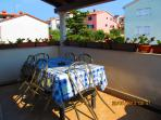 Front terrace - morning foto